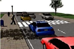หยุดรถก่อนถึงทางม้าลาย