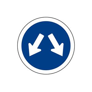 ป้ายให้ชิดซ้ายหรือชิดขวา