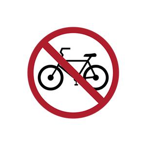 ป้ายห้ามรถจักรยาน